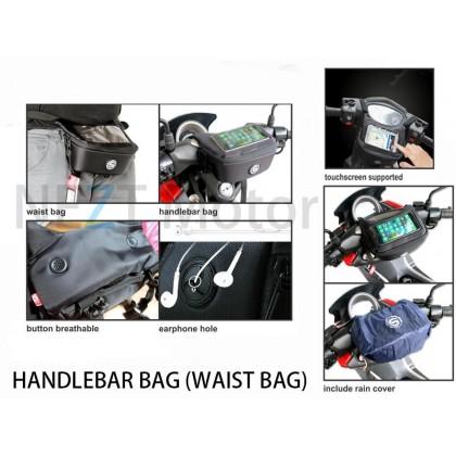 Motorcycle Handlebar Bag GPS Pouchbag Tams Bag