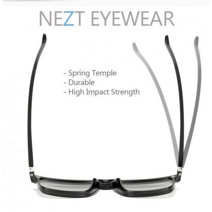 4 in 1 Nezt68 3D TR-Frame Snap-on Magnetic Eyeglasses Sunglasses