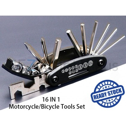 16 In 1 Bicycle Tools Set
