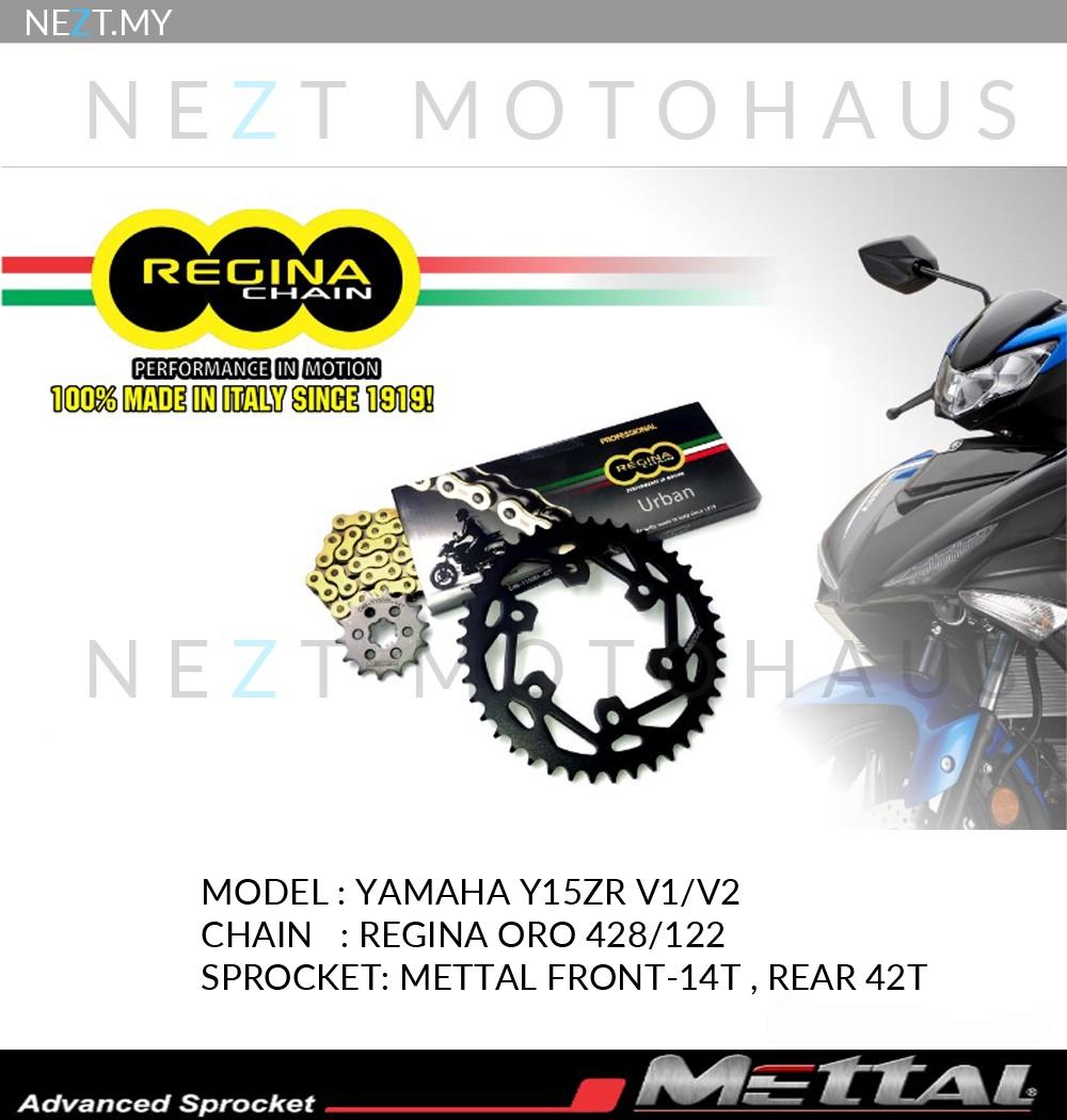 Regina Sprocket Kits Y15ZR RS150R LC135 Ready Stock