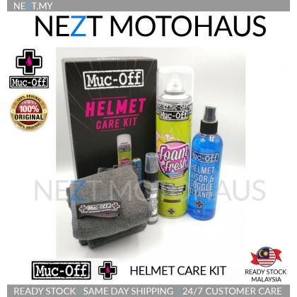 MUC-OFF Helmet Care kit / Helmet Visor Lens Goggle Cleaning kit