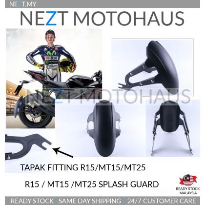 Yamaha MT15 MT25 R15 V3 Splash Guard Penahan Air