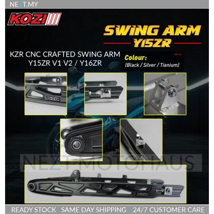 KZR CNC Crafted Swing Arm Y15 V1 V2 Y16 FREE CHAIN COVER