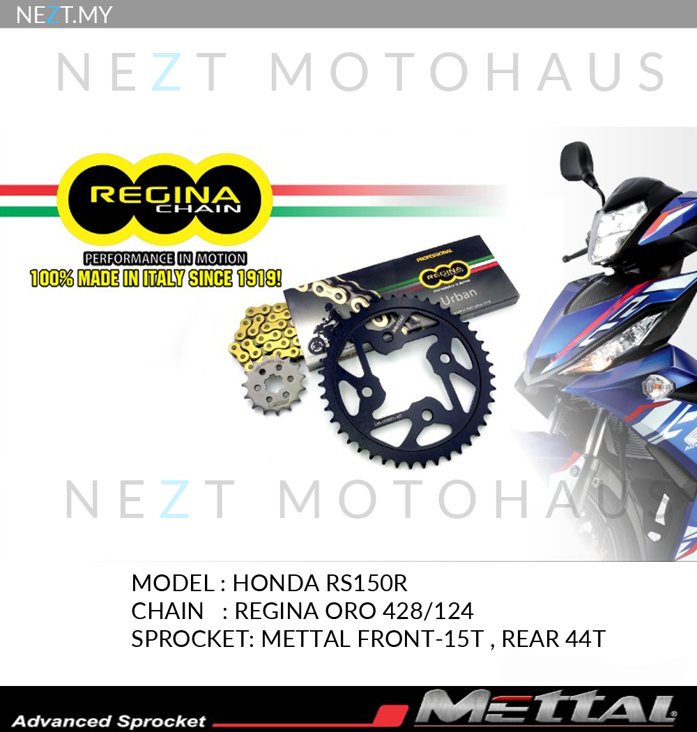 Regina Sprocket Kits Y15ZR RS150R LC135 Ready Stock